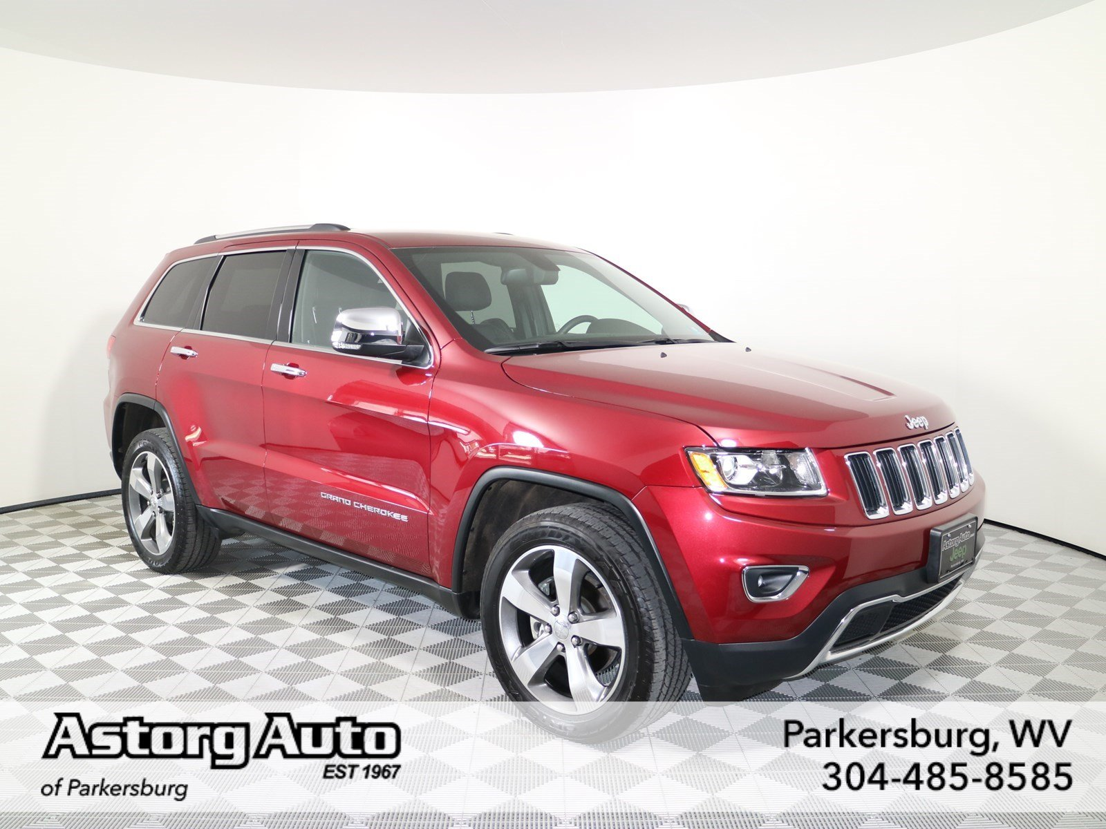 certified pre owned 2015 jeep grand cherokee limited sport utility in parkersburg d6367a. Black Bedroom Furniture Sets. Home Design Ideas