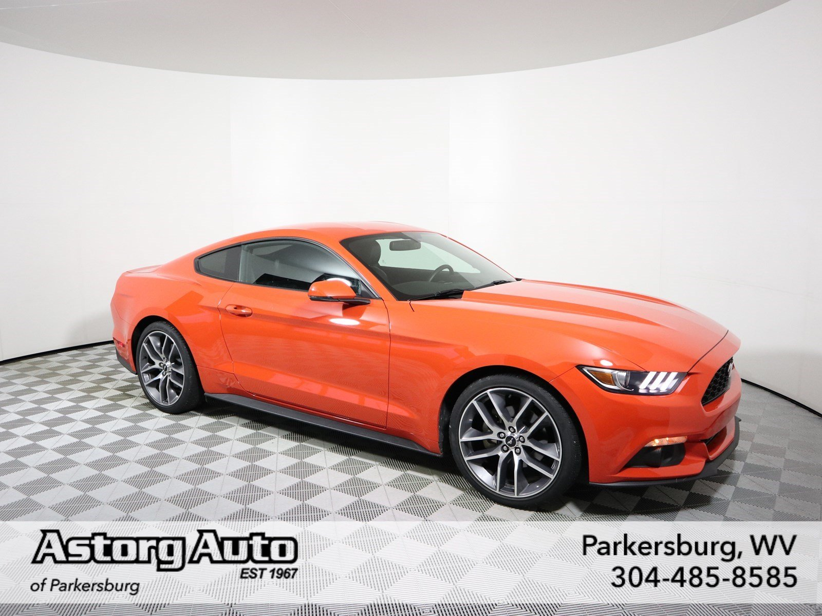 Certified Pre Owned 2015 Ford Mustang 2dr Car in Parkersburg