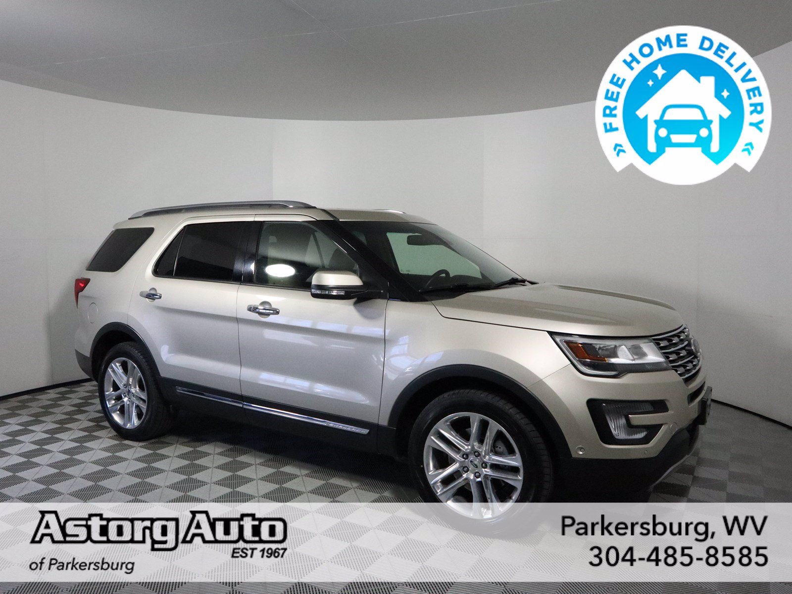 Certified Pre-Owned 2017 Ford Explorer Limited