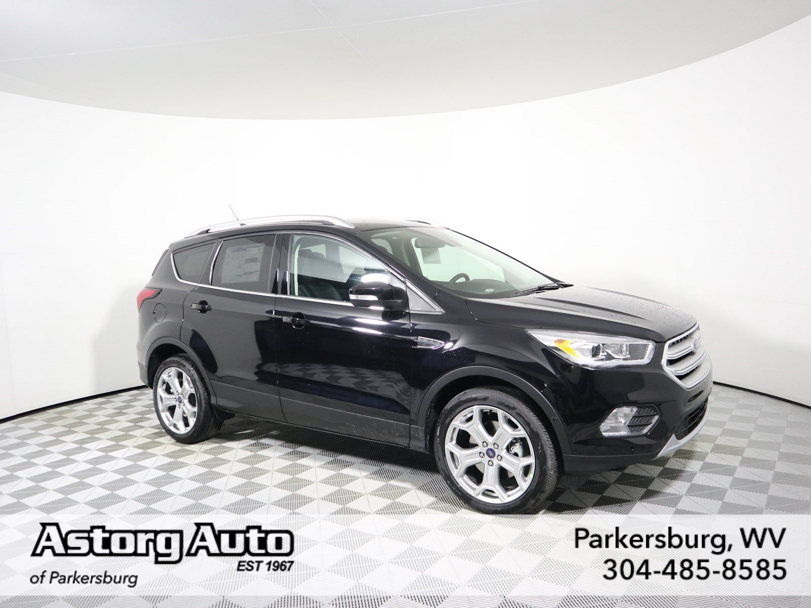 Ford Escape Titanium >> New 2019 Ford Escape Titanium Sport Utility In Parkersburg F18896