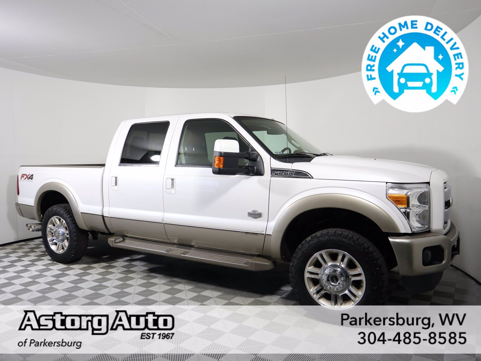 Pre-Owned 2012 Ford Super Duty F-250 SRW