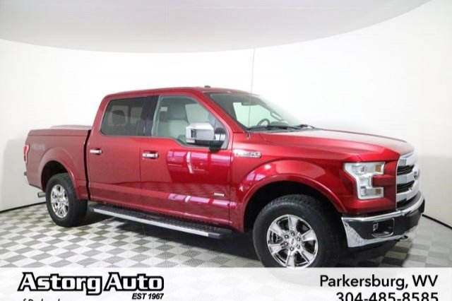 Certified Pre Owned Ford >> Certified Pre Owned 2015 Ford F 150 Lariat Crew Cab Pickup In