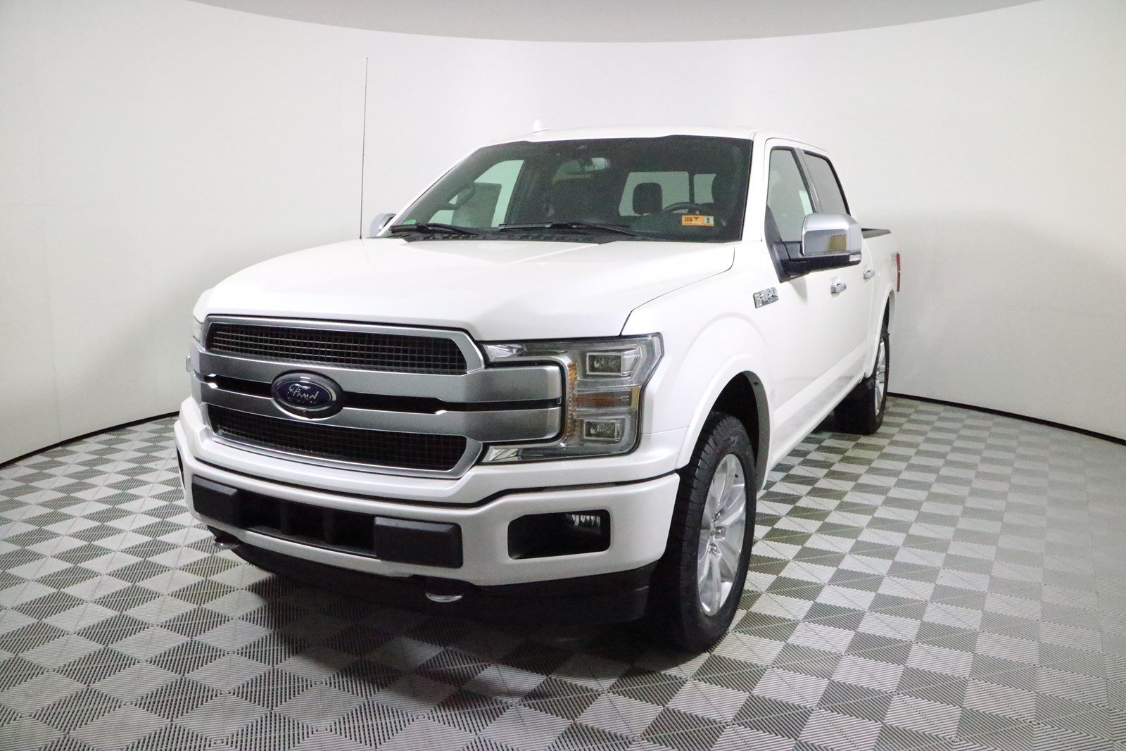platinum ok metallic truck in coat door valley engine automatic ford pauls sale f tri white for