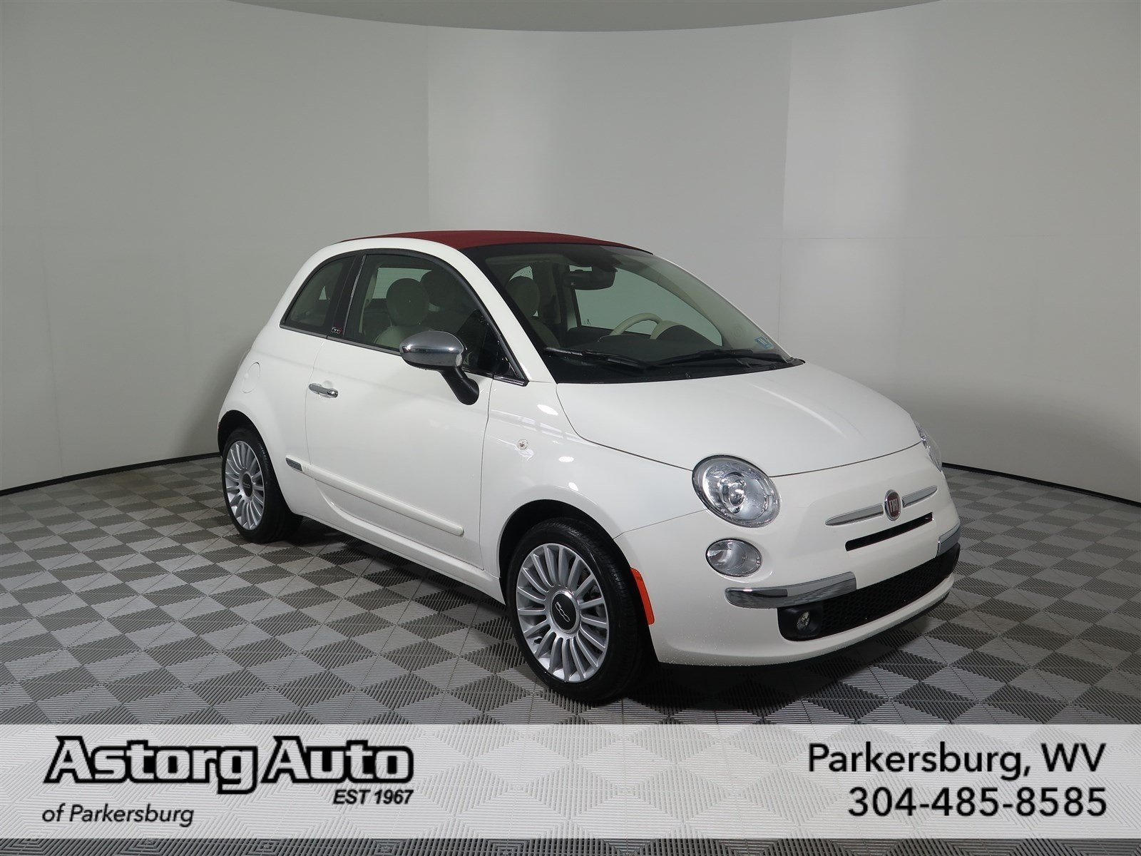new 2017 fiat 500c lounge convertible in parkersburg d6246 astorg auto. Black Bedroom Furniture Sets. Home Design Ideas