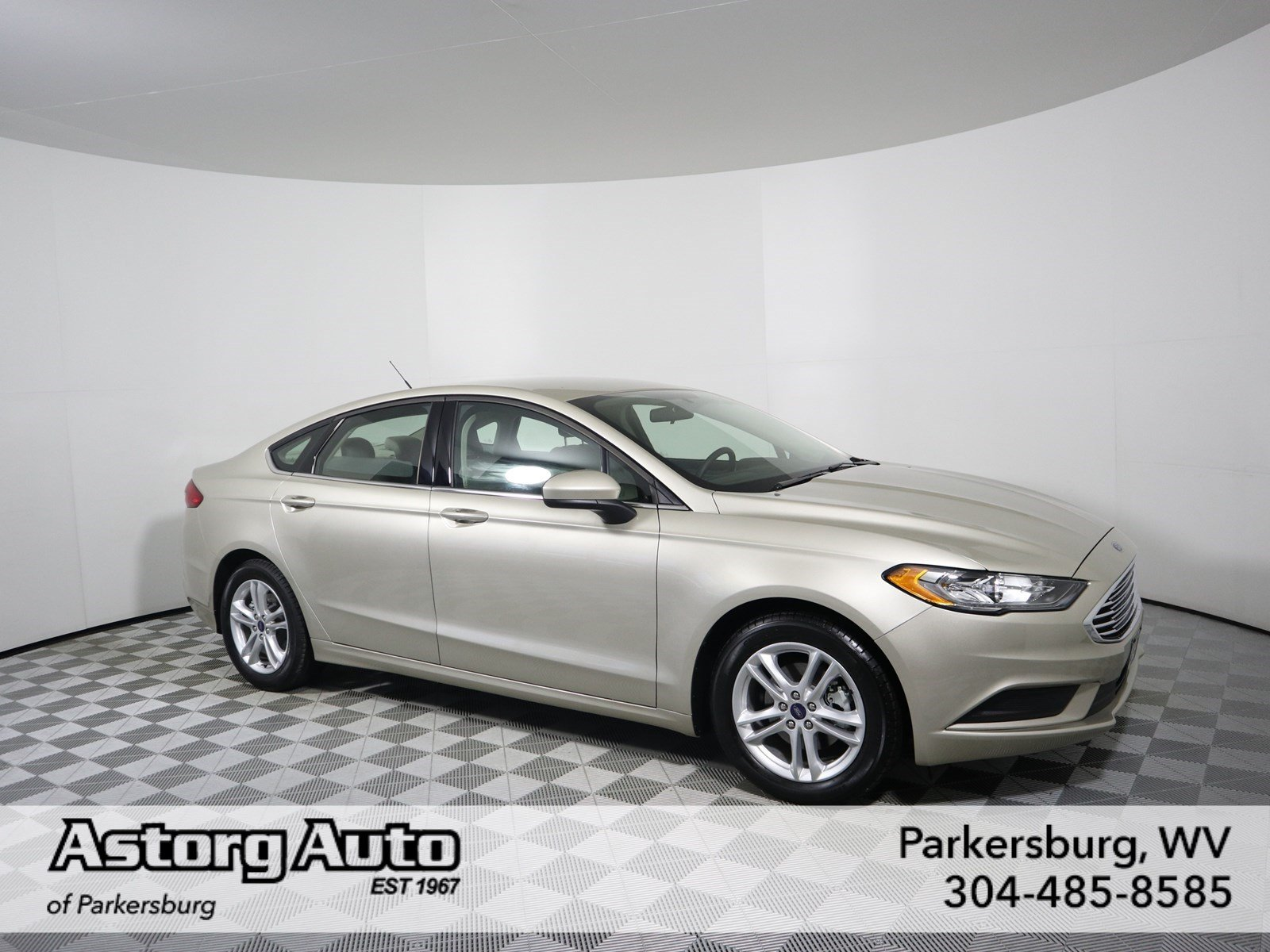 Certified pre owned 2018 ford fusion se