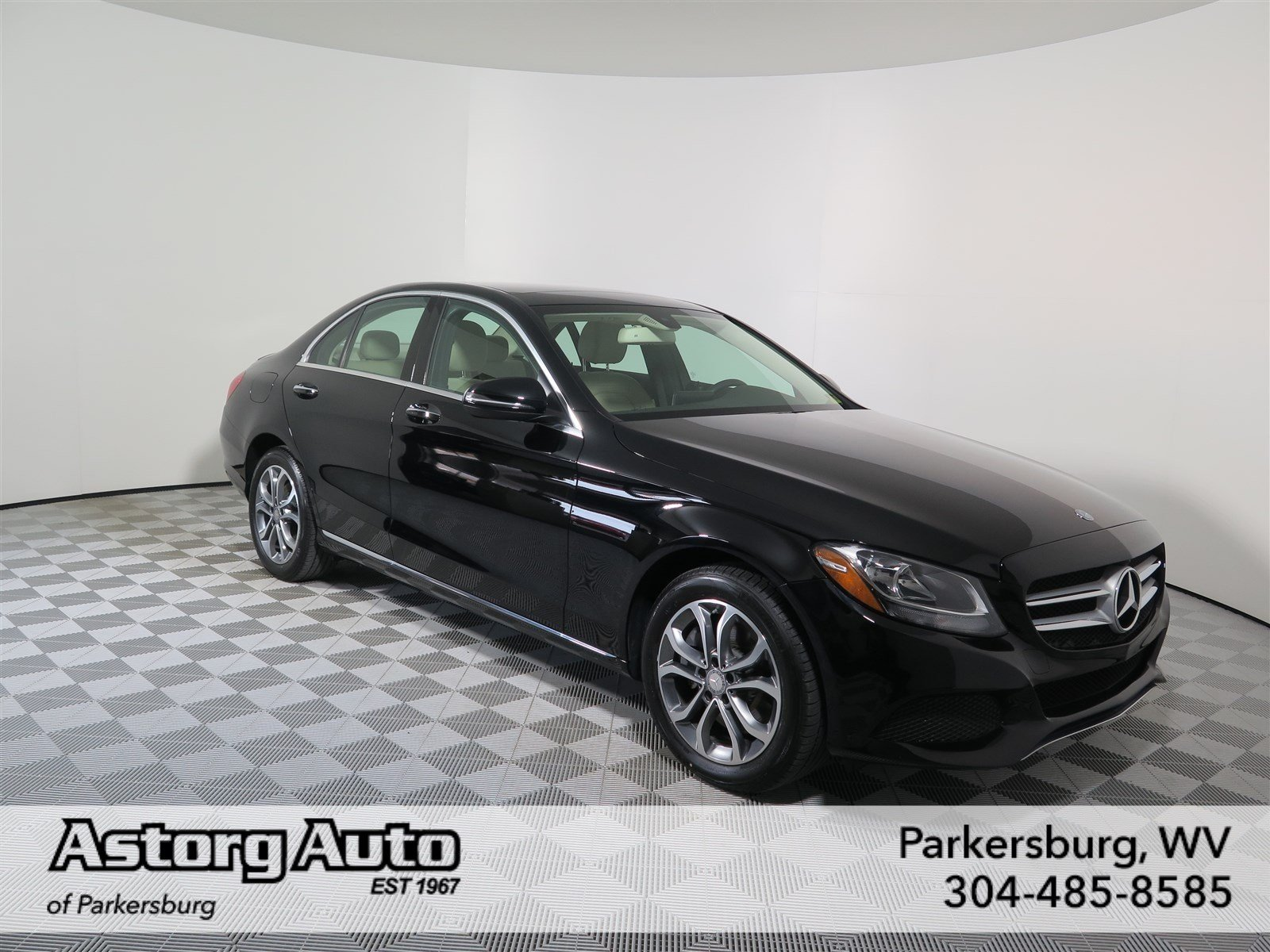 Certified pre owned 2016 mercedes benz c class c 300 4dr for Lakeview mercedes benz