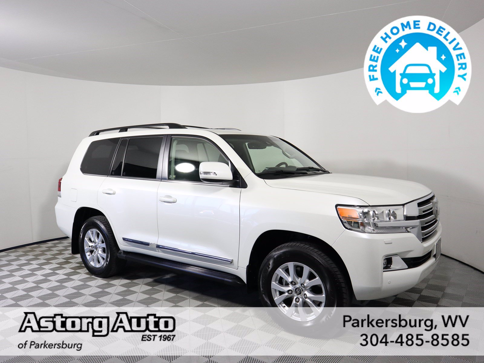 Pre-Owned 2019 Toyota Land Cruiser