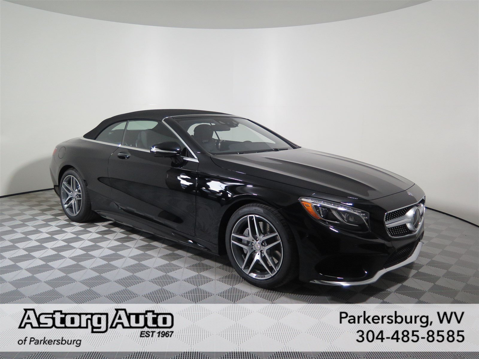 Pre owned 2017 mercedes benz s class s 550 convertible in for Pre owned mercedes benz s class