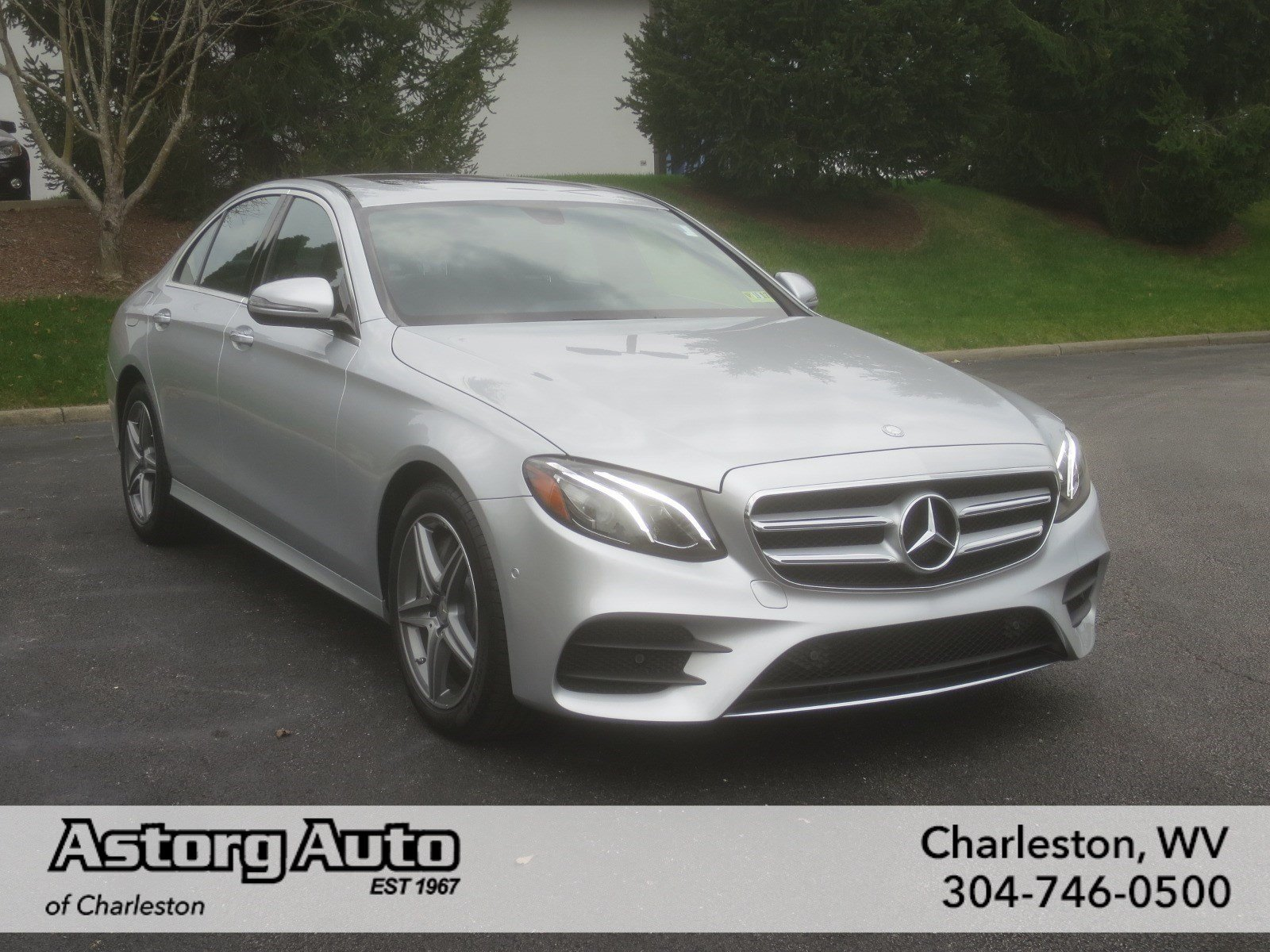 New 2017 mercedes benz e class e300 luxury 4dr car in for Mercedes benz charleston wv