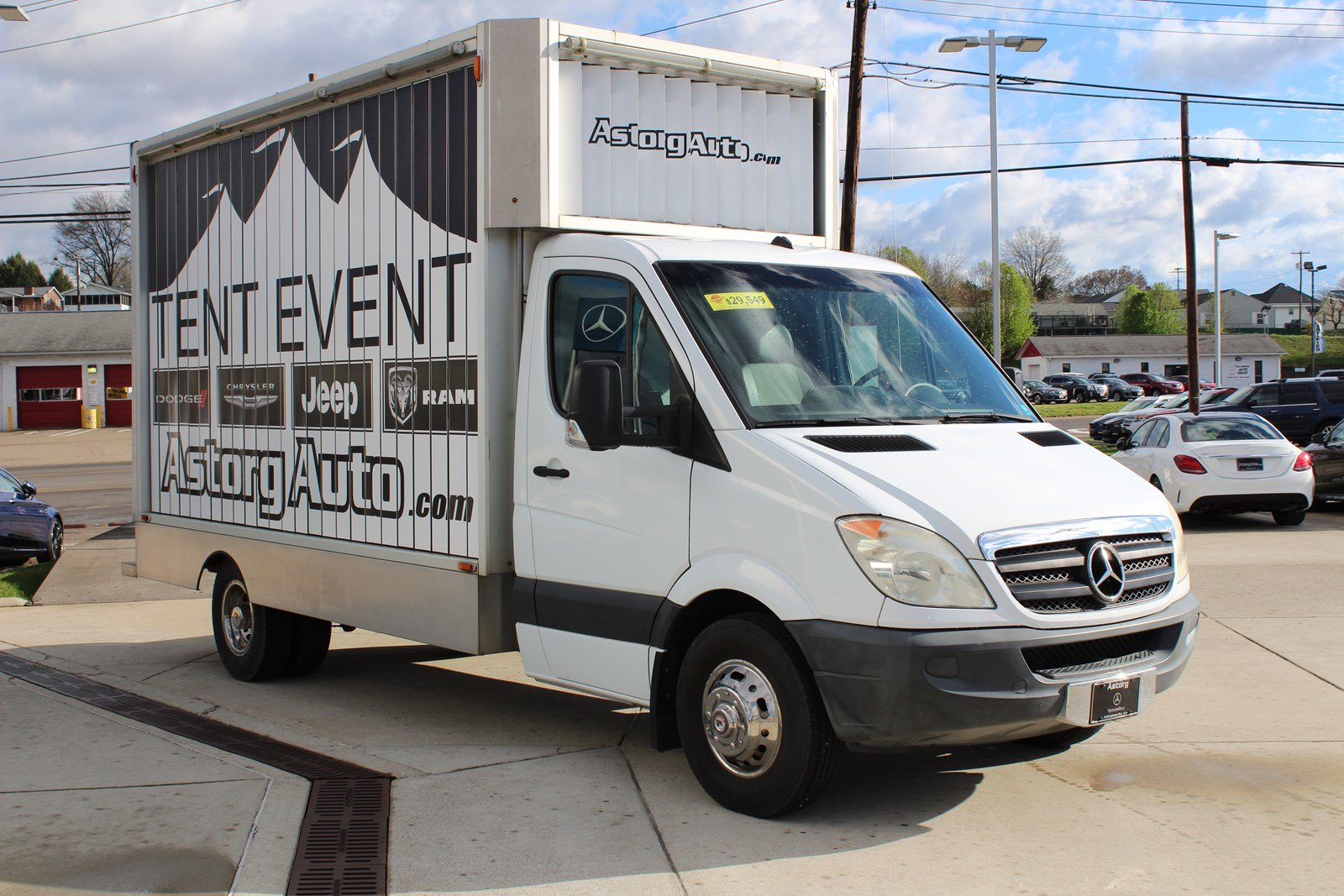 used regular rwd sprinter parkersburg van inventory dodge chassis owned in pre cab