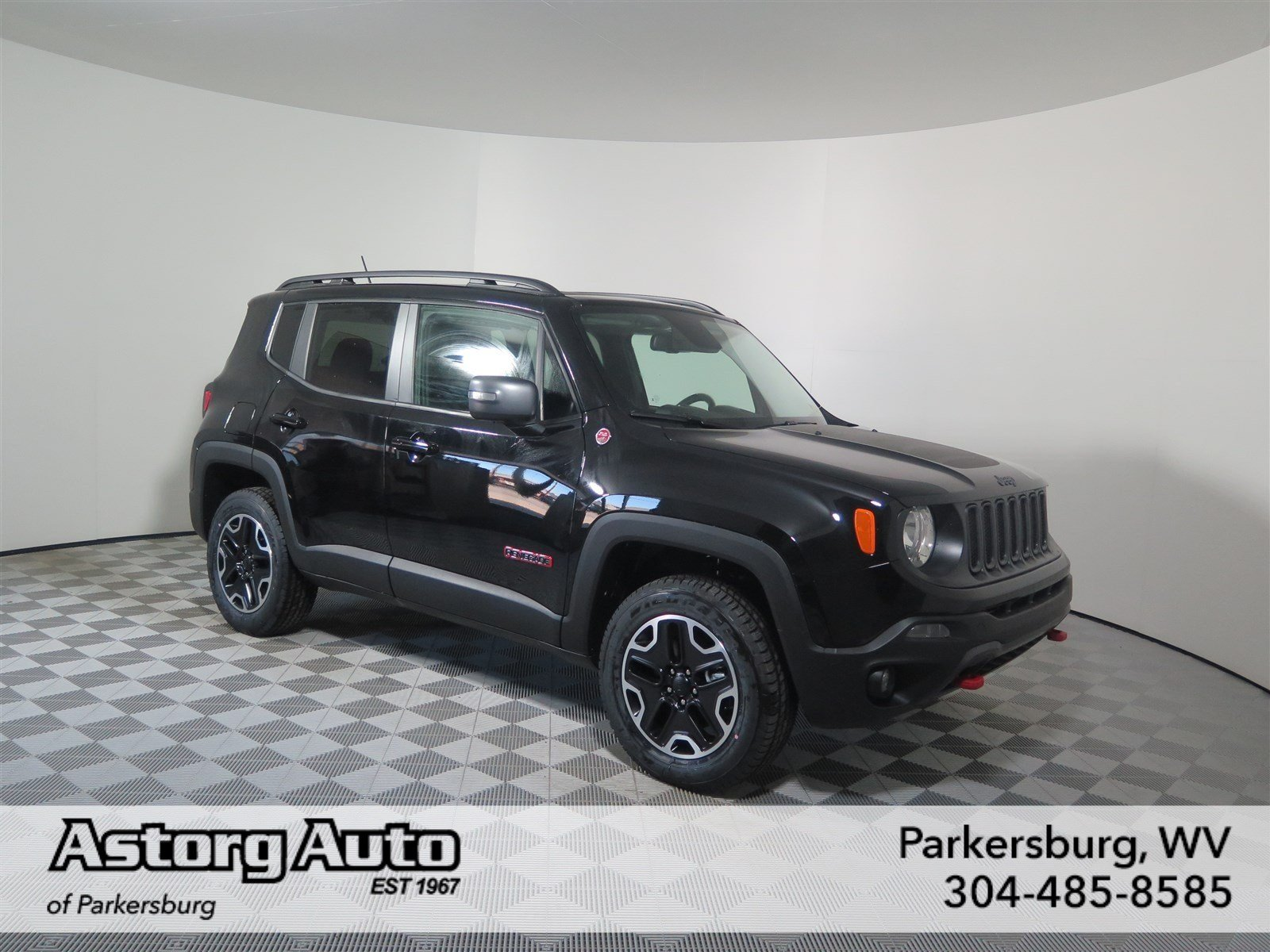 new 2017 jeep renegade trailhawk sport utility in parkersburg d6171 astorg auto. Black Bedroom Furniture Sets. Home Design Ideas