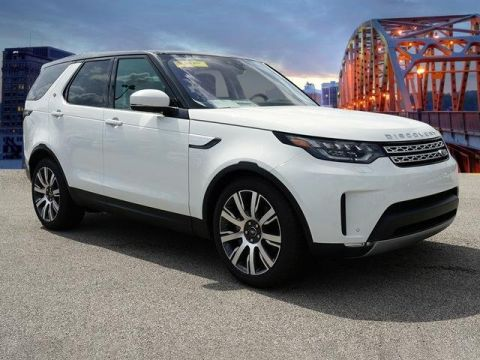 Certified Pre-Owned 2019 Land Rover Discovery HSE Luxury