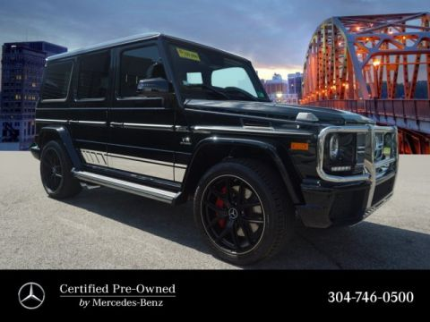 Certified Pre-Owned 2017 Mercedes-Benz G-Class AMG® G 65