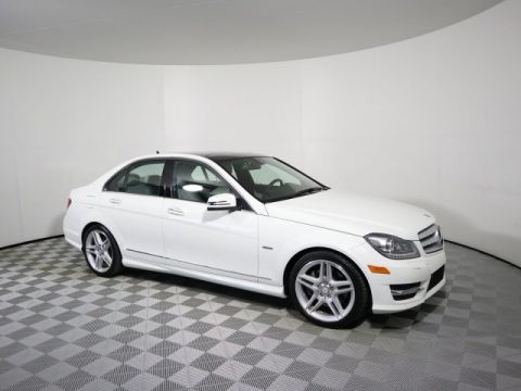 Pre-Owned 2012 Mercedes-Benz C-Class C 350 Sport